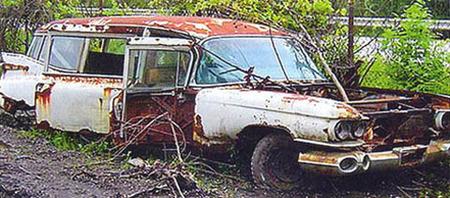 Cadillac Miller-Meteor abandonado