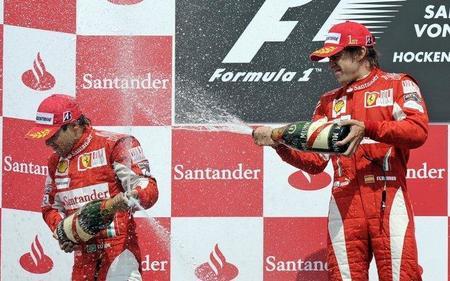 Ferrari anuncia igualdad para sus pilotos en 2011