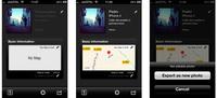 EXIF FI, edita y añade datos EXIF desde tu dispositivo iOS