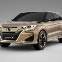 Honda D Concept, a la caza de los SUV de gama alta en China