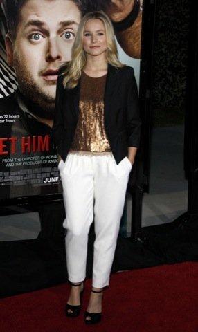 Kristen Bell, blazer famosa
