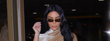 The obsession with christmas by the velvet of Kim Kardashian reaches its last look