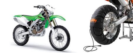 La Kawasaki KLX450R baja de precio y KTM regala accesorios