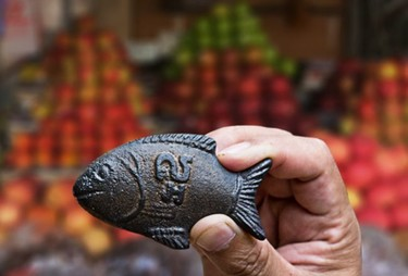The Lucky Iron Fish, el pez más solidario