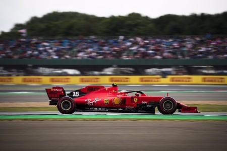 Leclerc Silverstone F1 2019