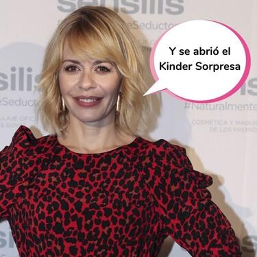 ¡María Adánez ya ha sido madre! Y después de ver la foto con la que nos ha presentado al bebé, no sabemos si corre peligro gatuno...