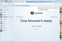 RockMelt potencia su factor social con su beta 5
