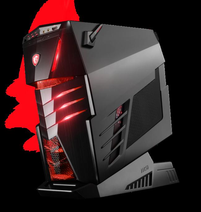 Aegis y Nightblade no son Transformers, son los nuevos ordenadores para jugar de MSI