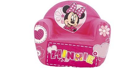 Ideal para niños de uno a dos años: sillón Minnie acolchado por 34,12€ y envío gratis en Amazon