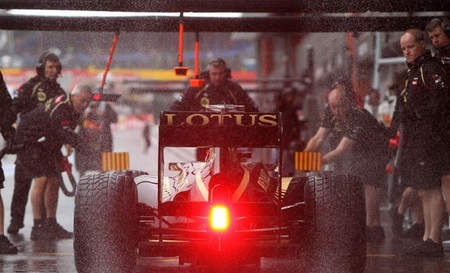 Lotus no utilizará su novedoso doble-DRS en la carrera del domingo