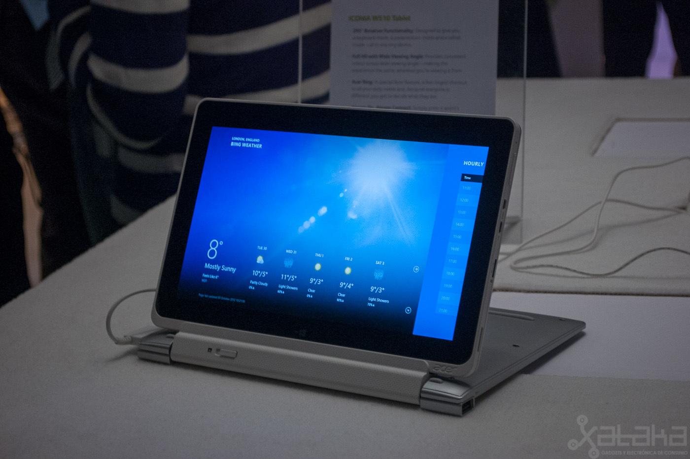 Foto de Acer Iconia W510, primeras impresiones (8/14)