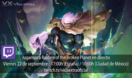 Streaming de Raiders of the Broken Planet - Alien Myths a las 17:00h (las 10:00h en Ciudad de México)