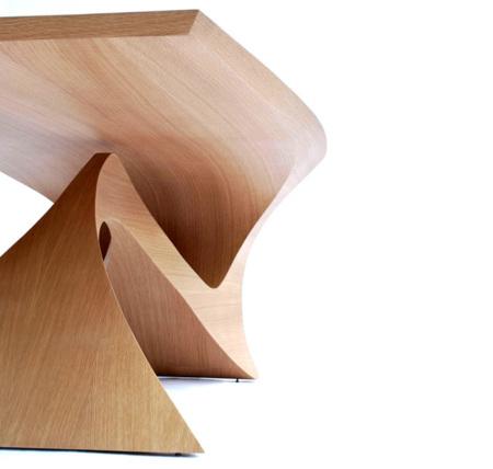 Mesa 'La forma sigue a la función' de Daan Mulder
