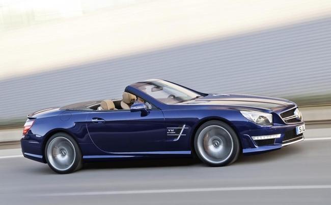 Mercedes-Benz SL 65 AMG azul