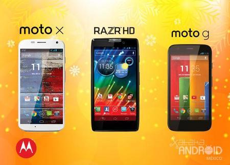 Motorola: Promociones Navideñas Telcel