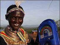 "Lámparas ""de cuerda"" para África"