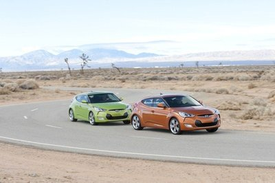 El Hyundai Veloster Turbo se presentará en el Salón de Nueva York