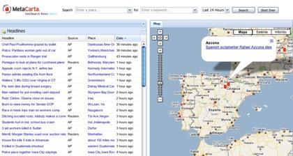 MetaCarta, la información geolocalizada mediante Google Maps