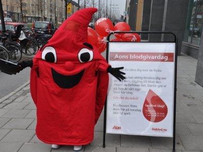 ¿Qué preferirías para hacerte donante: una camiseta de regalo o un SMS al salvar una vida? En Suecia lo tienen claro