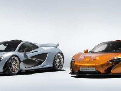 El último McLaren P1 salió ayer del horno