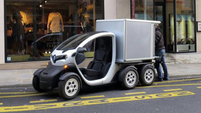 Renault Twizy Delivery Concept, por si querías hacer una mudanza sostenible
