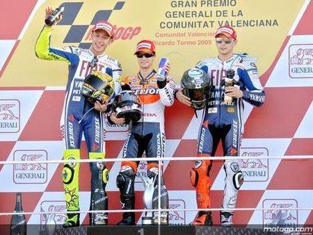 MotoGP'09: lo mejor y lo peor del año 2009