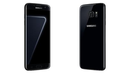 Samsung también quiere brillar y presenta el nuevo Galaxy S7 Edge color 'black pearl'