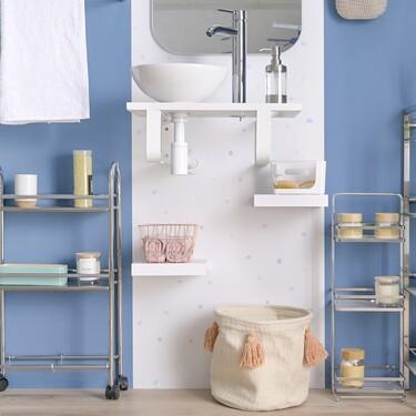 Casa en orden: Leroy Merlin tiene todo lo que tu baño y tú necesitáis para que cada cosa esté en su lugar