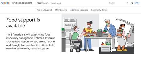 Google lanza iniciativa para encontrar comida gratis y bancos de alimentos para los más necesitados