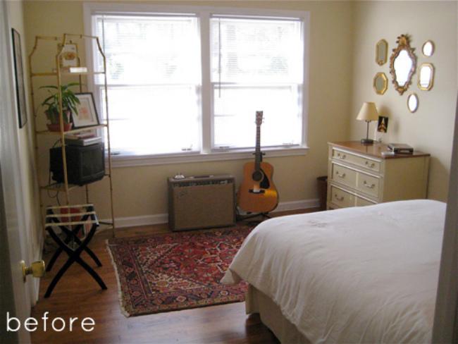 Foto de Antes y después: un dormitorio que se oscurece (1/6)