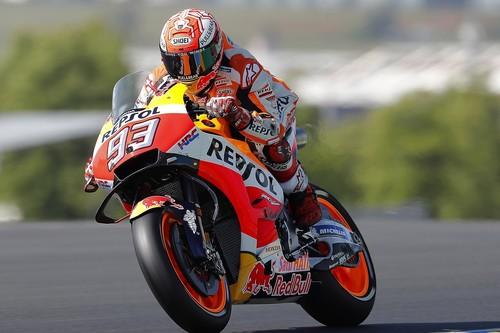 Marc Márquez salva otra caída para romper la racha de Yamaha en Francia y ponerse aún más líder