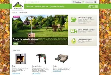 tienda online leroy merlin nuevas secciones