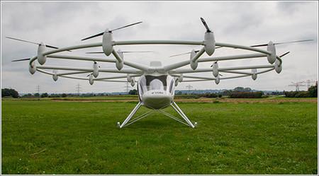 [Vídeo] Un helicóptero eléctrico con 18 rotores