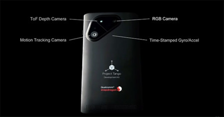 Google y Qualcomm colaboran en un smartphone de Project Tango