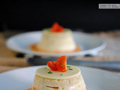 Pastel de pan de molde, jamón y queso. Receta clásica renovada