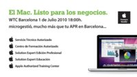 Próximo evento gratuito para profesionales en Barcelona de la mano de Microgestió con la colaboración de Apple