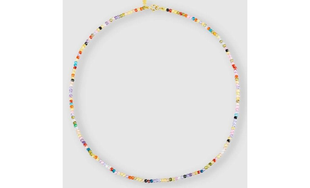 Collar Tous Color en oro amarillo de 18ct y zirconita