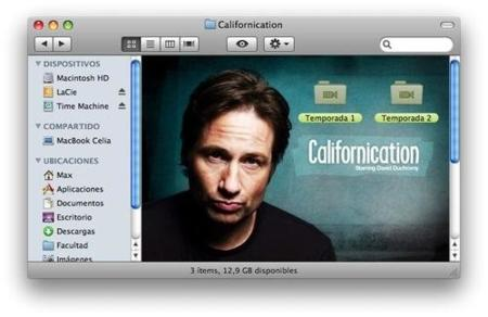 Carpeta para Californication