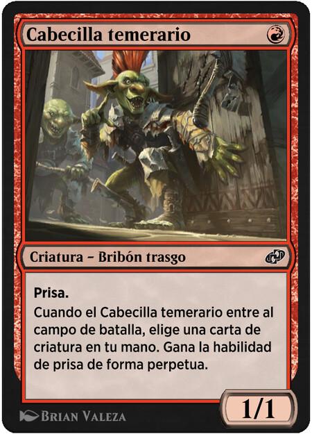 Cabecilla Temerario