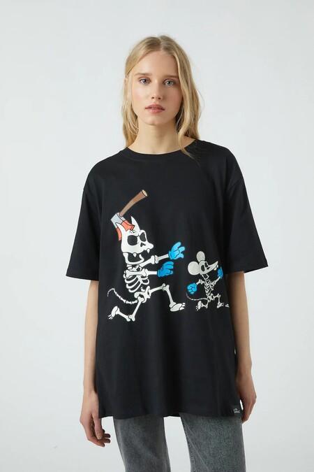 Pull Bear Halloween 2020 Camiseta 08