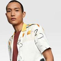 Marca tendencia con los prints abstractos de Zara
