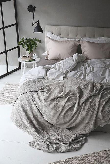 Matrimonio Bed Linen : Ideas para crear un dormitorio en gris