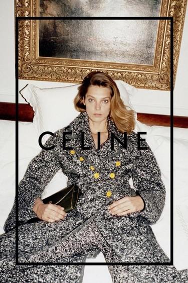 Daria Werbowy vuelve como imagen de Celine para este otoño-invierno 2014