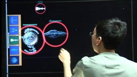 'Fleet Commander': estrategia espacial en tiempo real en un muro táctil de 6 metros