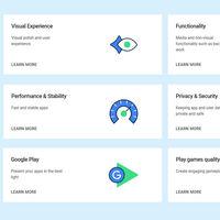 Google quiere calidad en las apps: crea una nueva lista de recomendaciones para los desarrolladores