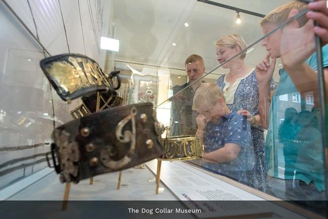 Museo de los collares de perro en Leeds
