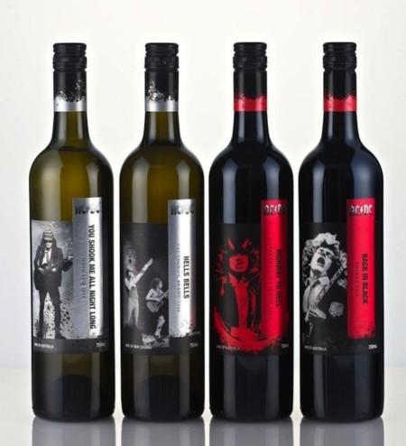 El rock de AC/DC llega al mundo del vino