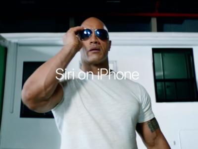 The Rock vuelve con tres nuevos anuncios para dominar el mundo con la ayuda de Siri