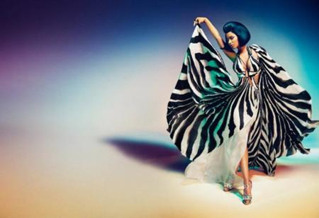 Nicki Minaj Campaña Roberto Cavalli Primavera Verano 2015