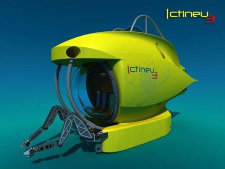 Cómo es el ICTINEU3, el sumergible triplaza de Submarins S.L. que se exhibirá en la Excellence Fair 2011